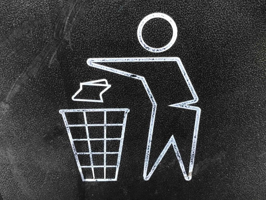 festival afval